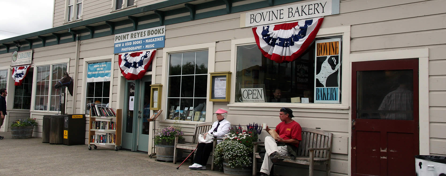 bookstore & bakery point reyes station pt reyes national seashore